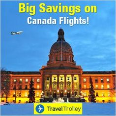 Flights to Canada from UK