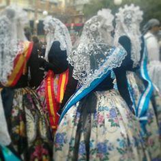 Novia alicantina de las Hogueras de San Juan #Alicante #CostaBlanca