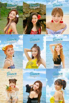 TWICE Dance The Night Away Kpop Girl Groups, Korean Girl Groups, Kpop Girls, Mamamoo, Twice Kpop Members, K Pop, Shy Shy Shy, Twice Photoshoot, Blackpink Twice