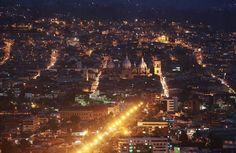 Cuenca Ecuador, my city, located in the middle of the Coordillera de los Andes