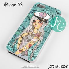 Sea girl Phone case for iPhone 4/4s/5/5c/5s/6/6 plus