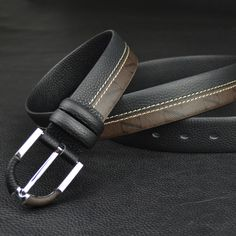 genuine Leather men's belt, Leather Belts, pin buckle,wholesale from For Mixed Batch Leather Belts, Cowhide Leather, Leather Men, Men's Belts, Casual Belt, Classic Man, Well Dressed Men, Cosplay Wigs, Belt Buckles