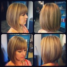 t takes confidence to rock a style like Bangs and long bob cut Long Asymmetrical Bob, Wavy Bob Long, Long Bob Cuts, Long Bob With Bangs, Wavy Bob Hairstyles, Trending Hairstyles, Longbob Hair, Graduated Bob Haircuts, Fringe Haircut