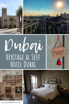 Al Seef Heritage Hotel Dubai – Hoteltipp für Dubai Dubai Hotel, Heritage Hotel, Hotels, Travel Couple, Places To See, To Go, Asia, Skyline, Pictures
