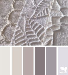 paper tones, by design seeds Room Colors, House Colors, Paint Colors, Colours, Design Seeds, Colour Pallette, Colour Schemes, Grey Palette, Colorful Decor