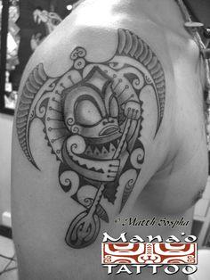 Mana'o Tattoo Studio - always incredible work from Manu and crew!