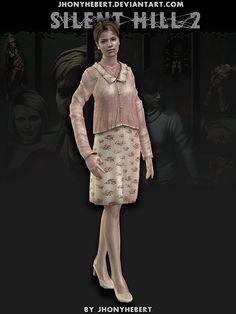 Mary Sunderland - Silent Hill 2 by JhonyHebert