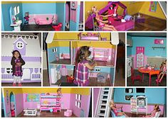 Barbie house.We will be making this!