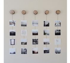 A well-dressed wall | Artifact Uprising Square Prints DIY wall by Meagan Hildebrandt