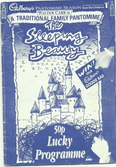 Poster of Sleeping Beauty in Perth Theatre 's Pantomime  16th December 2012 -  14th January 2013