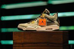 """1 of 1"" Air Jordan 4 Retro for the Trophy Room"