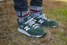 New balance retro trainers sneakers jeans denim fashion men tumblr streetstyle festival