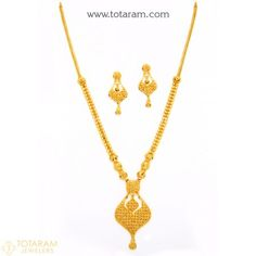 Gold Jewelry Design In India Key: 4336719776 Gold Mangalsutra Designs, Gold Earrings Designs, Necklace Designs, Indian Gold Jewellery Design, Jewelry Design, Handmade Jewellery, Gold Jewelry Simple, Silver Jewelry, Or Rose
