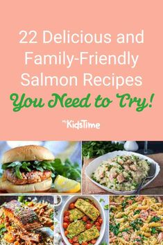 22 Delicious and Family-Friendly Salmon Recipes You Need to Try – Mykidstime Baked Salmon And Asparagus, Parmesan Crusted Salmon, Pan Fried Salmon, Oven Baked Salmon, Salmon Risotto, Salmon Pasta, Easy Salmon Recipes, Fish Recipes, Greek Salmon Recipe