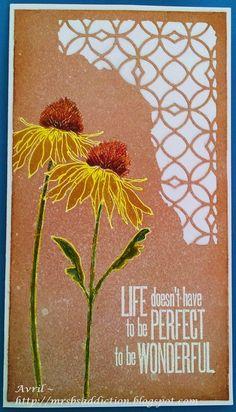 Mrs. B's Crafting Addiction: Simple Flowers