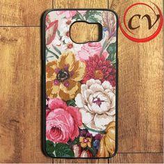 Flower Painting Samsung Galaxy S6 Edge Plus Case