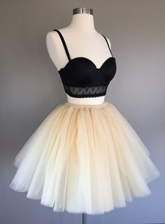 Tulle skirt champagne tutu Adult by Morningstardesignsmi on Etsy
