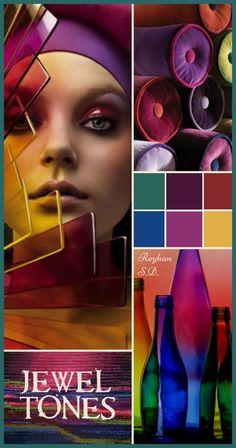 '' Jewel Tones '' by Reyhan S.D.