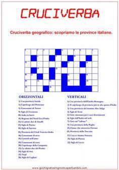 Cruciverba sulle province italiane