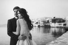 9ad55b717c40 Indigo blue and copper wedding inspiration in Mykonos