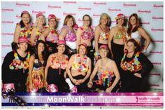 Beaches & Cream WI, Cornwall Fed, did the @WalktheWalk London Moonwalk, raising £5000+ for breast cancer charities