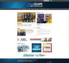 Novo portal do CEAPE, sie focado em notícias para seus associados e sociedade www.ceapetece.org.br