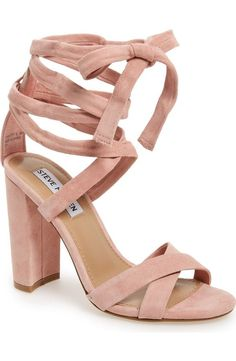 ba6931f85f6 christey wraparound ankle tie sandal by Steve Madden. A wrapped
