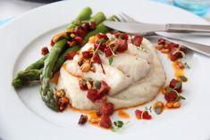 Recipes From Heaven, Chorizo, Lchf, Baked Potato, Great Recipes, Mashed Potatoes, Nom Nom, Food And Drink, Fish