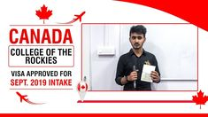 Canada Student Visa Approved For Sept. 2019 Intake Best University, Congratulations, How To Apply, Canada, Student, Education, Teaching, Onderwijs, Studying