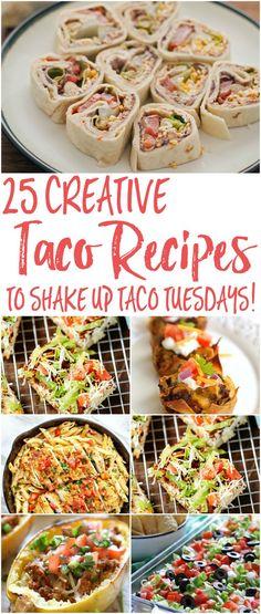 25 Creative Taco Rec