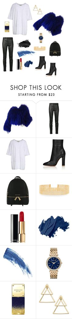 """""""K.O."""" by laurenashley-13 ❤ liked on Polyvore featuring Yves Saint Laurent, Yeezy by Kanye West, MICHAEL Michael Kors, Lydell NYC, Chanel, Bobbi Brown Cosmetics, Eyeko, Urban Decay, Michael Kors and INC International Concepts"""