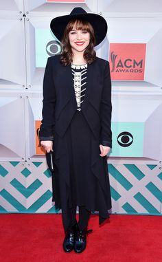 Renee Felice Smith from ACM Awards 2016 Red Carpet Arrivals  It's not just about the music. The star of NCIS: Los Angeles makes an appearance on the red carpet.