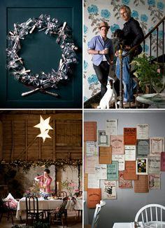 photographed by paul raeside...  I want a wreath like that!