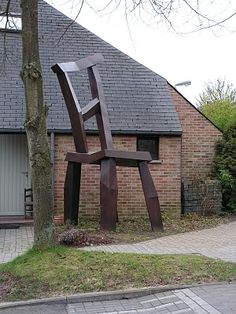 Chair in Louvain-la-Neuve, Belgium