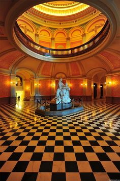 California State Capitol Interior, Sacramento.
