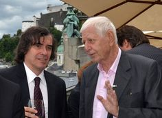 Mircea Cartarescu si Hans Magnus Enzensberger