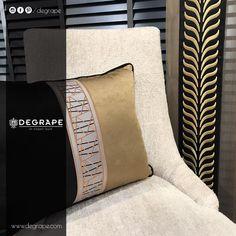 Degrape ile zerafet ve şıklık hep sizinle... Tül: Scarlett Bordür(perde): Barbo Bordür (yastık): Rennes Sandalye kumaş: Porto 💫💫💫 #evdekorasyonu #perde #degrape #izmir #alsancak #bordür #istanbul #curtain #upholstery #textile #design #interiordesign #elegant #border Scandinavian Design, Garden Design, Throw Pillows, Elegant, Istanbul, Home Decor, Rennes, Classy, Toss Pillows