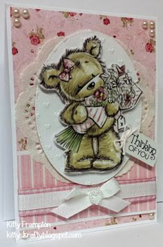 LOTV - James and Jenny Bear Art Pad with Always and Forever Paper Pad by Kitty Frampton