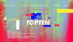 Role: Concept, Motion graphic & Sound DesignProject Description: FULL PACKAGE FOR MUSIC SHOW - MTV TOP TENMusic Chart for VpopMusic: musicdealers.com - Aww Yeah! by DJ RocMotion graphic: Thao Phuong Nguyen (Ni)
