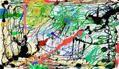 jackson pollock paintings | Photo Credits: Jackson Pollock- mrbrainwash.com , iphone painting ...