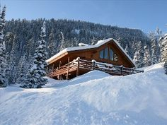 Mountain+Village+Ski-in/out+Log+Home+-+5BR/3BA,+Sleeps+14Vacation Rental in Big Sky from @HomeAway! #vacation #rental #travel #homeaway