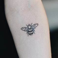 I want this bee with a certain quote down my spine