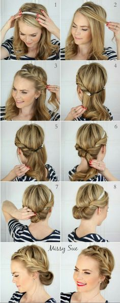 Beautiful Hairstyle Tuck And Cover French Braid Tutorial This Will Make You Look Poised Pulled Together