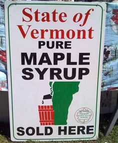 FAIL  very bad sign design . Don't want to tap that to get my Maple Syrup, do you?
