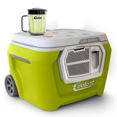 The Coolest ($485) is a USB-charging, gadget-toting, bottle-opening cooler with a built-in blender and cutting board. | 17 Ways To Live Your Best Life This Summer