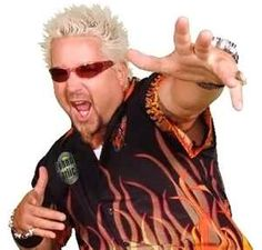 GUY    Diners Drive Ins  and Dives!!!