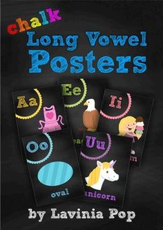 Chalk Posters - Long Vowels {FREE}This unit would make a great addition to your chalkboard themed classroom!Please refer to the images above to get a better idea of what is included in this packet.If you liked this packet, be sure to check out my other chalk / chalkboard themed classroom decor elements here!Happy Decorating and Teaching :)Follow me on Facebook for exclusive freebies and giveaways!Follow me on PinterestVisit my blog