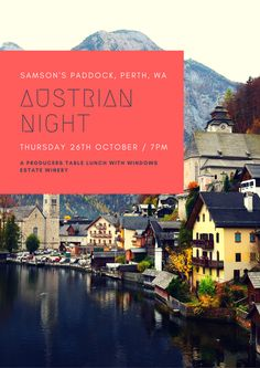 This is going to be a great night in the bar with 30 spots available. Tickets include food and are $40 per person (plus 90c for transaction). Join us to celebrate Austria's National day, and experience an amazing night of traditional cuisine. And a line-up of beer and wine from the homeland. You will think you are back in Vienna down at the naschmarkt with a Grüner Veltliner or a Krügel of Trumer in hand! A full payment of $40.90 per person is required. Great Night, Homeland, Vienna, Books Online, Austria, Join, Beer, Events, Traditional