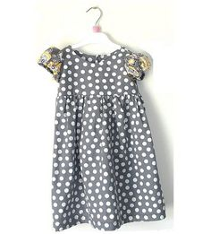 Allie from Freshly Completed shares a free pattern for her Little Miss dress for toddler girls. It has a simple round neck and pretty puff sleeves. The skirt is gathered on to an empire waist bo…