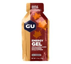 GU Maple Bacon Energy Gel gives you the optimal balance of maltodextrin and fructose delivers a quick blood sugar rise, and then maintains that glucose level for up to 45 minutes. GU keeps your mind alert and active, and your muscles going strong during your regular workouts.